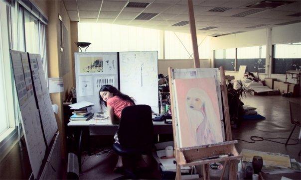 Pyhai in studio