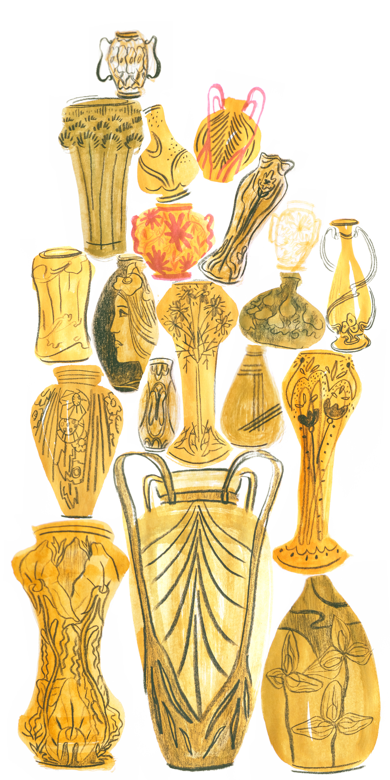 Vases by Pyhai